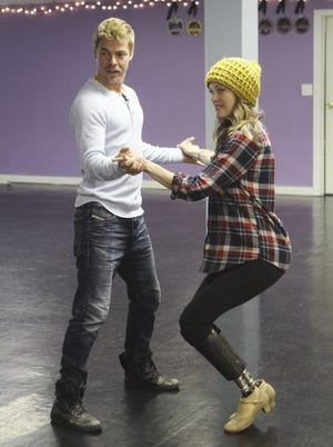 Derek Hough and Paralympic snowboarder Amy Purdy begin working their way toward Season 18 of 'Dancing With the Stars.'
