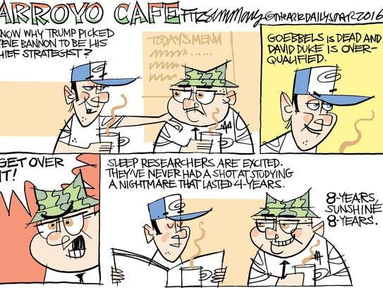 David Fitzsimmons, The Arizona Star, drew this editorial
