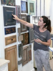 Racovita explains different techniques for refurbishing