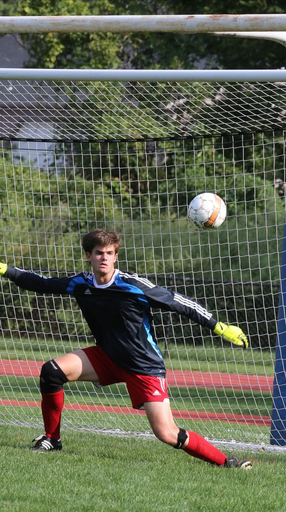 Horace Greeley defeats Fox Lane 3-2 during soccer game