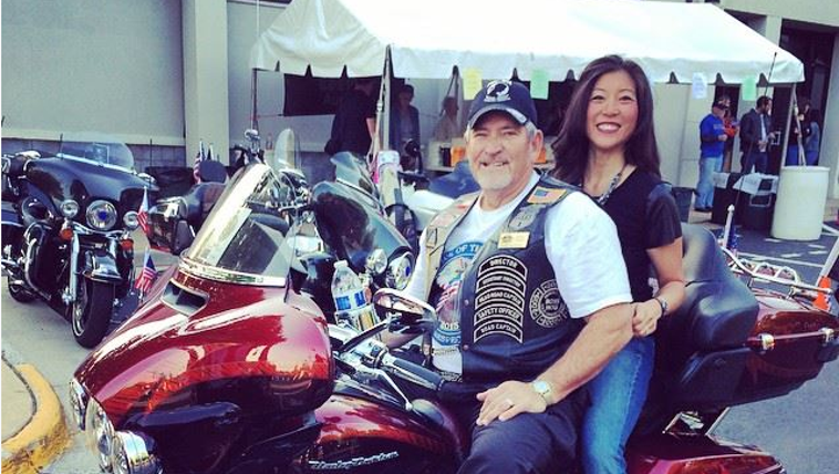 Thank you to our military! #RollingThunder. With my