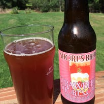 Strawberry Short's Cake, from Short's Brewing Company.