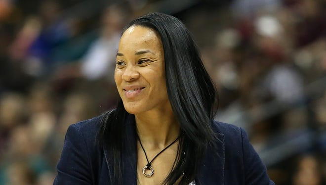 """Dawn Staley has turned South Carolina from an irrelevant program to one of the elites. """"Pat Summitt really transcended women's basketball to bring in the casual male fan, fans of other sports,"""" said former college and WNBA coach Nell Fortner, who coached Staley on the 2000 Olympic team. """"People were mesmerized by Pat. Our sport misses that, and we need it. For (Staley) to become that would be absolutely outstanding."""""""