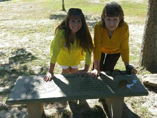Mother Debra Freeman, left, and grandmother Clydell