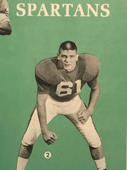 Ron Goovert, a Ferndale native, was Michigan State's