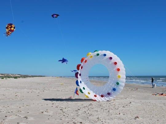 Padre Island National Seashore will host Kite Day 2018
