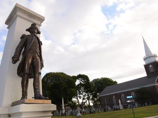 Enoch Poor statue
