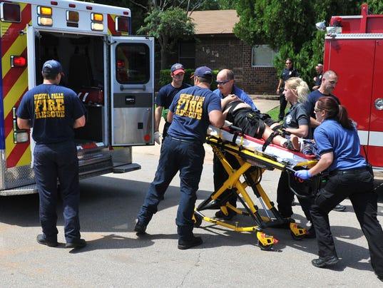 Juvenile injured