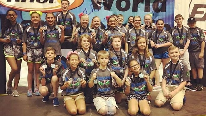The Kingston Elementary archery team captured first place recently at the 2017 NASP World Tournament in Orlando.