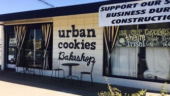 Urban Cookies closes its old location on March 30, and re-opens in a new location on April 1.