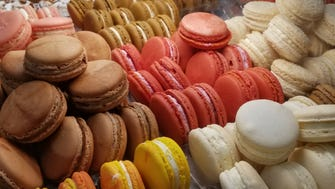 Macarons home-made at Pierre & Michel in Elmwood Park