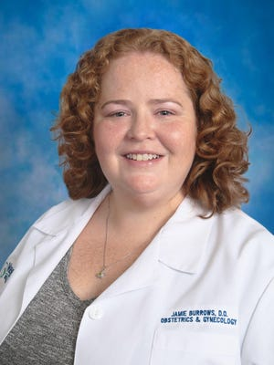 Jamie Burrows is a doctor of osteopathic medicine at Partners in Women's Health.