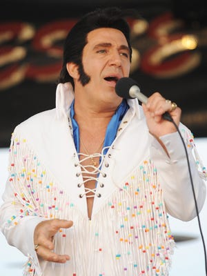 Elvis impersonator Jesse Garron is one of 12 tribute acts lined up for Bethany Beach's summer concert series.