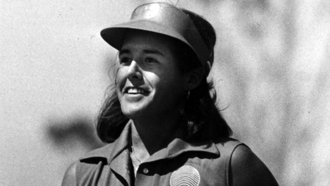 FEBRUARY 18, 1979: Nancy Lopez during her LPGA championship last summer at Nicklaus Golf Center, Kings Island.