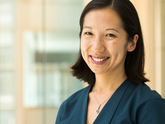 Baltimore Health Commissioner, Dr. Leana Wen is pictured