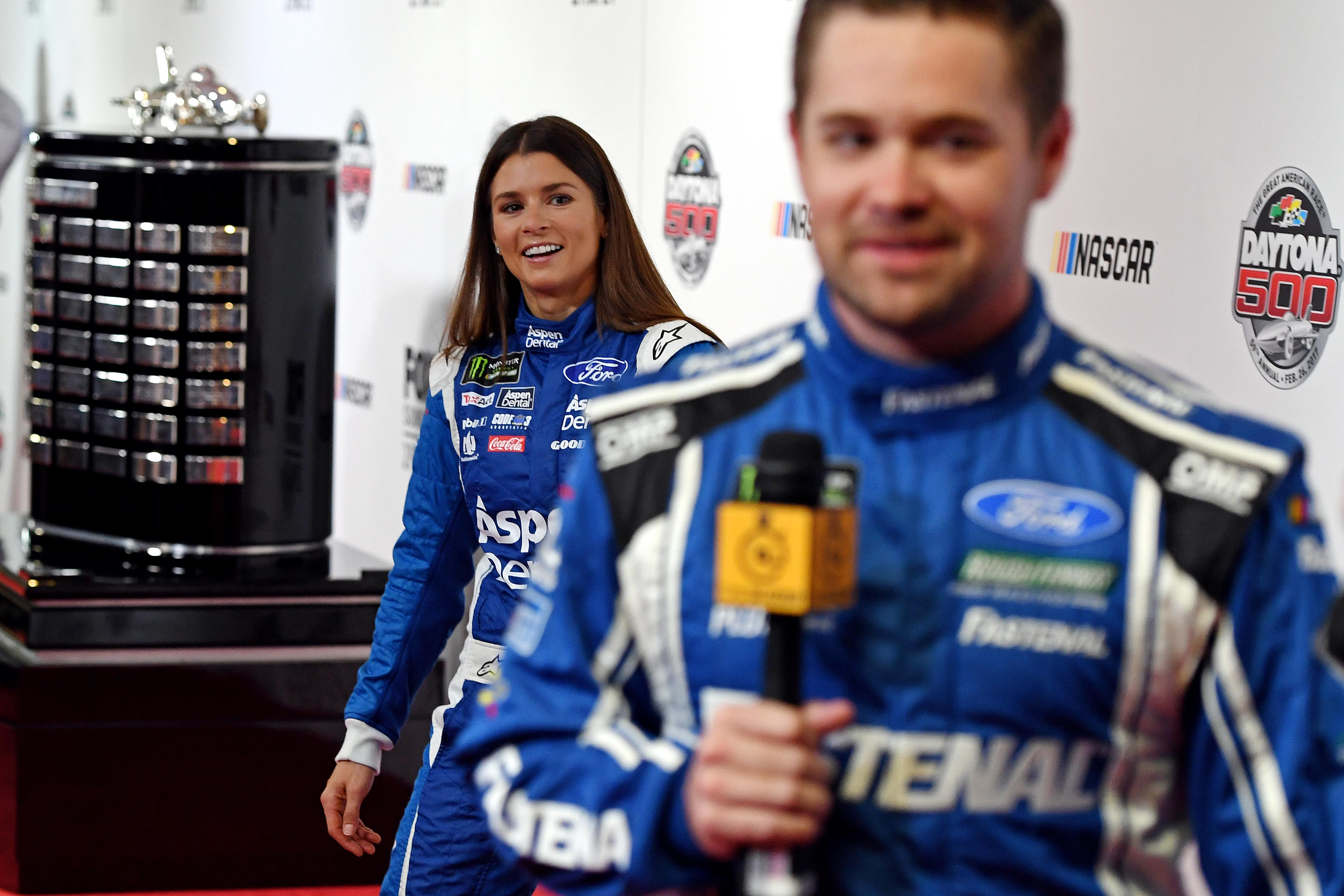 Danica and stenhouse jr are dating