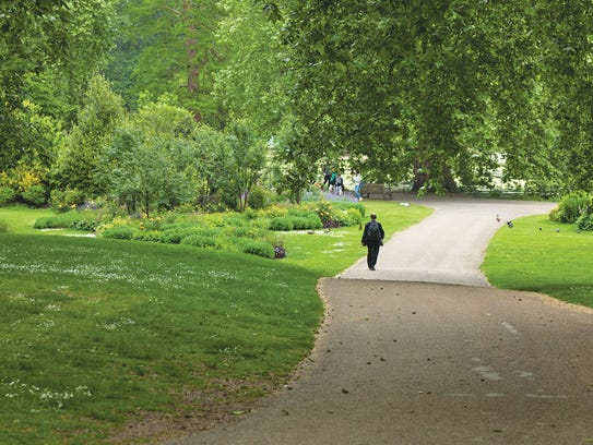 London's many parks provide a peaceful respite from