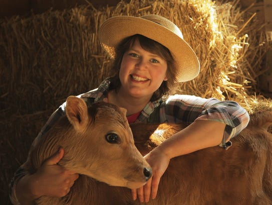 Inga Witscher of 'Around The Farm Table' has a small organic dairy farm near Osseo, and will be a guest at Dairy Day at the MOOseum at the Hoard Historical Museum on June 2.