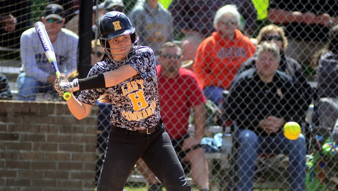 Hendersonville High junior catcher Matti Byrd produced three hits and drove in two runs in the Lady Commandos' 6-3 victory over Wilson Central in Saturday afternoon's District 9-AAA championship game.