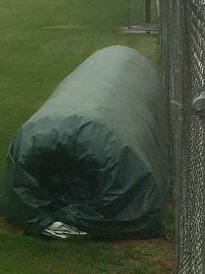 The St. Martin Parish Sheriff's Office is looking for the person(s) who allegedly stole turf from Cecilia High.