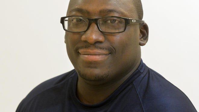 Bethesda Academy football coach Antwain Turner.