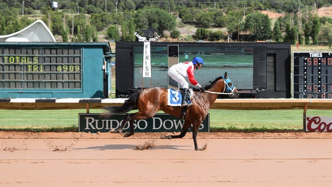 Another Brother won his Mountain Top Futurity trial on Friday in Ruidoso.