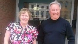 Denise Chaapel, left and Sal Pietropaolo, right, started as co-managers of the Canandaigua BID on June 1.