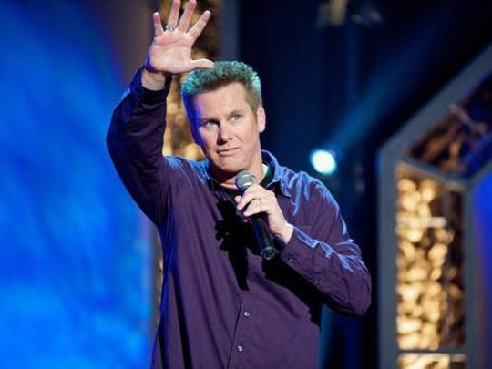Brian Regan will perform at the Peace Center April