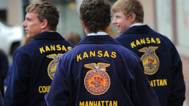 FFA students from around the United States are in Indianapolis this week for the annual 91st National FFA Convention