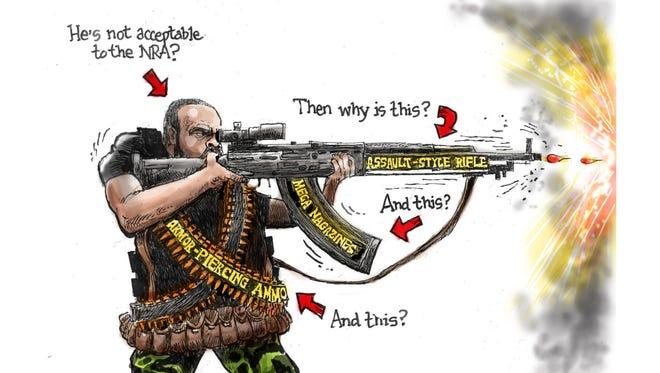 Cartoon for July 15, 2016.