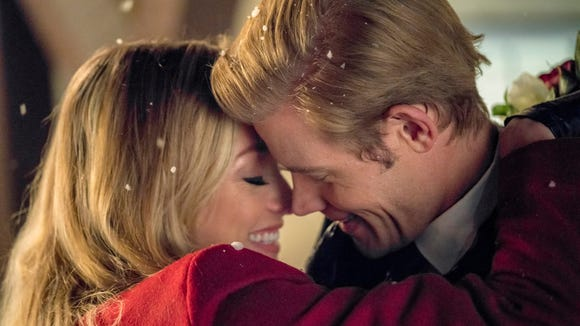Are 'Marry Me at Christmas' stars Rachel Skarsten and Trevor Donovan underneath the mistletoe?
