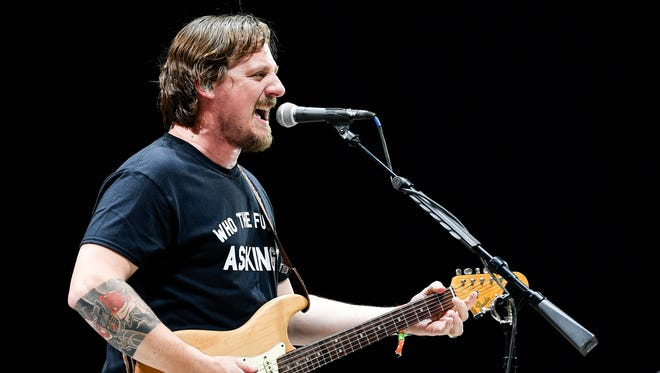 Sturgill Simpson performs during the Bonnaroo Music and Arts Festival in Manchester, Tenn., Friday, June 8, 2018.