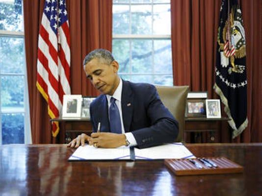 Obamasigning