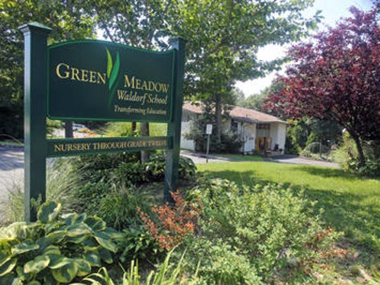 Sign outside the Green Meadow Waldorf School