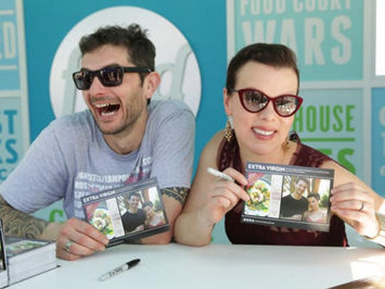 """Gabriele Corcos and his wife Debi Mazar star in the Cooking Channel series, """"Extra Virgin."""""""