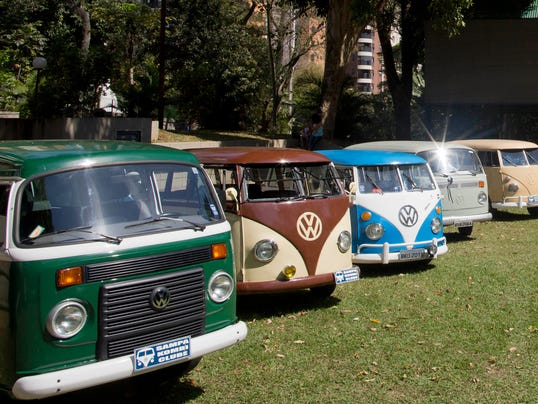 AP Brazil End of the VW Van