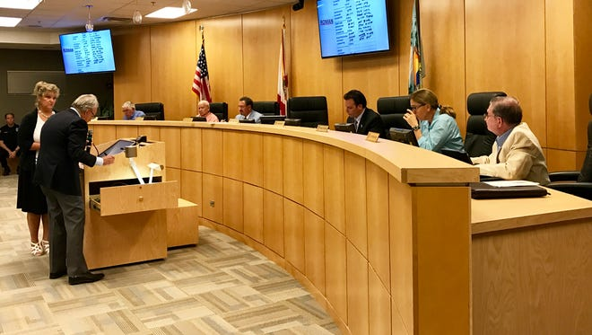The four newly-elected councilors – vice-chair Jared Grifoni, Howard Reed, Charlette Roman and incumbent and chair Larry Honig – selected their appointees to the city's five boards and committees at Monday's City Council meeting. The councilors used a randomized system to select the order in which they'd name their appointees.
