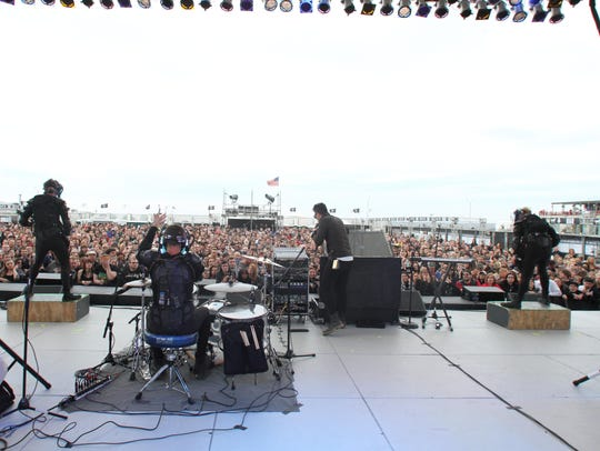 Starset played the Stone Pony's Summer Stage on May