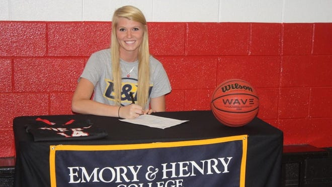 Avery County senior Jessica Hoilman has signed to play college basketball for Emory & Henry (Va.).