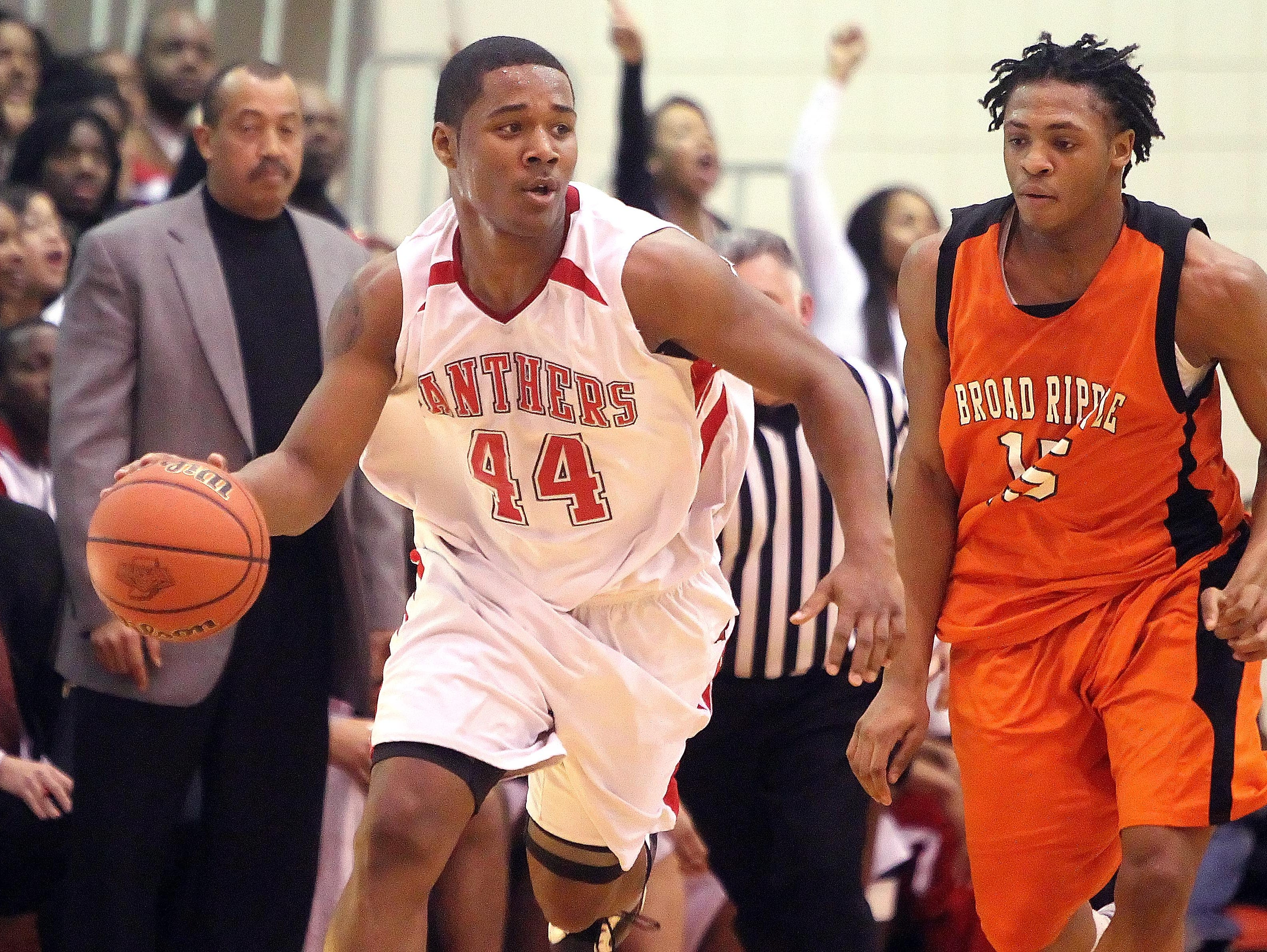 FILE – D'Vauntes Smith-Rivera was a star at North Central before taking the prep route.