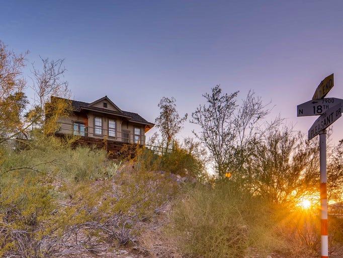 Historic railroad depot turned hilltop home for sale for ...