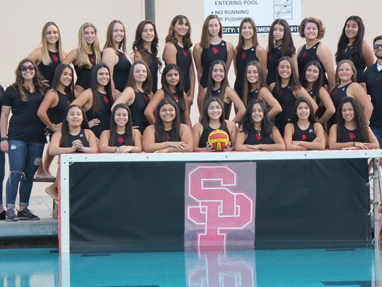 The Santa Paula High girls water polo team finished 16-9 overall and 5-1 in the Frontier League, giving the fledgling program a share of its first league title and its first CIF-SS playoff berth.
