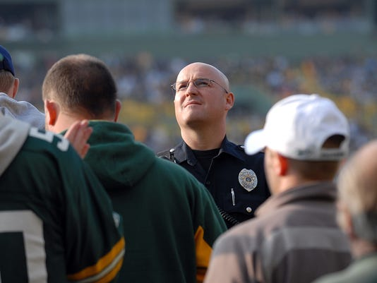 Lambeau Field Arrests