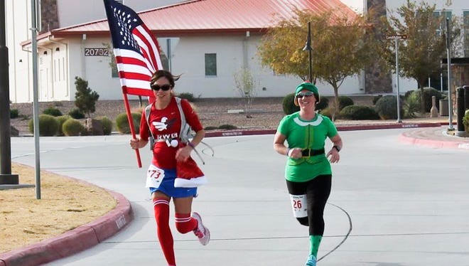 The 8K Holiday Run is scheduled for Dec. 3 at Soto Physical Fitness Center. It is one of many events at Fort Bliss scheduled through the end of the year and into the new year.