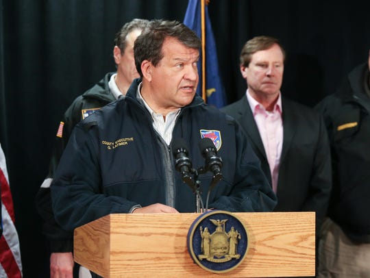 2:18 p.m. Westchester County Executive George Latimer