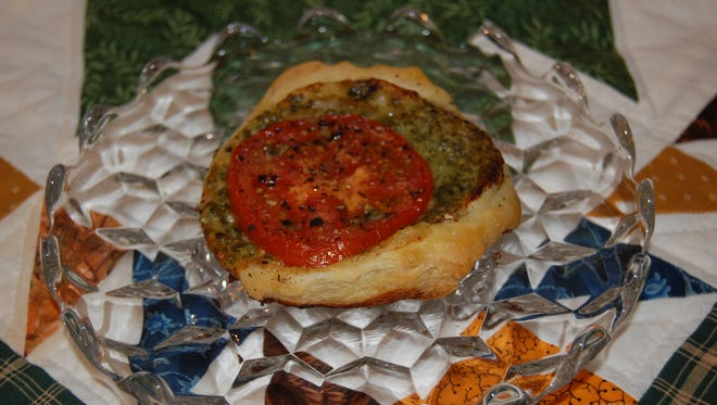Noelle Rulseh shares a recipe for tomato tarts.