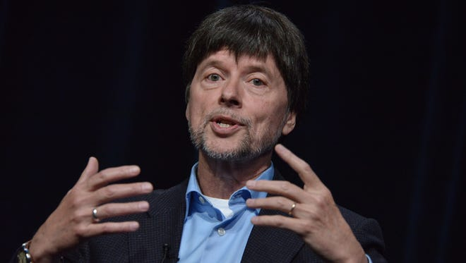 Ken Burns, seen here in July, is producing a PBS project examining cancer.