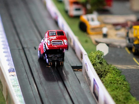 Gregory Burchell tricked out some of his miniature