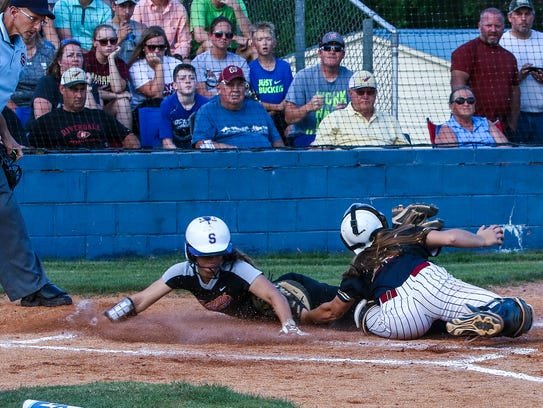 Smyrna and Riverdale battle in the 7-AAA softball finals