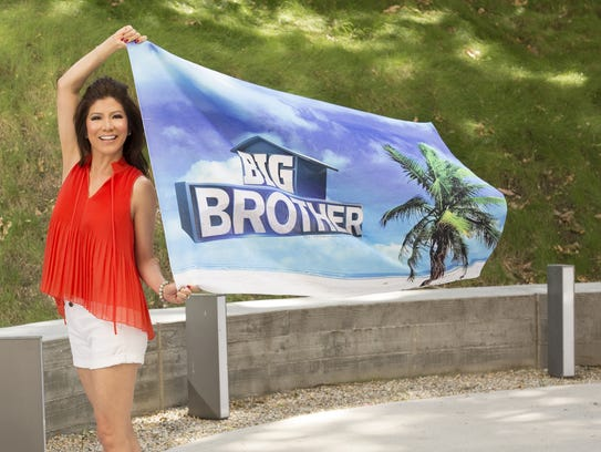 """Julie Chen, host of """"Big Brother"""" on CBS."""